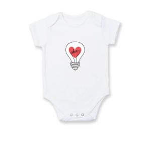 Love žárovka rozum - Body kojenecké