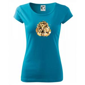 Lví rodina - Pure dámské triko