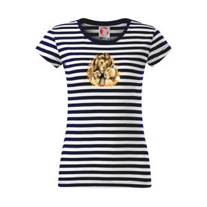 Lví rodina - Sailor dámské triko