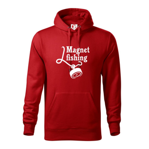 Magnet fishing - Mikina s kapucí hooded sweater