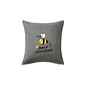 Malá včelařka - Polštář 50x50