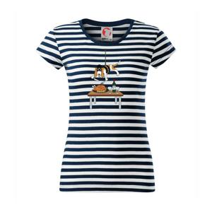 Malý zloděj - baset (Hana-creative) - Sailor dámské triko
