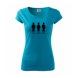 Man Woman Unisex - Pure dámské triko
