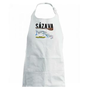 Mapa řeky Sázavy - Dětská zástěra na vaření