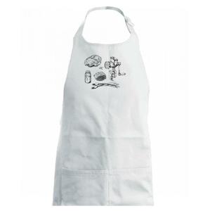 Maso a mlýnek - Dětská zástěra na vaření