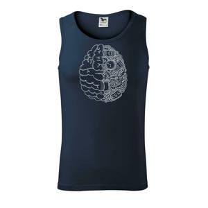 Mechanický mozek - Tílko pánské Core