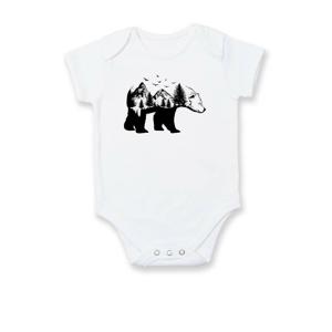 Medvěd ilustrace - Body kojenecké