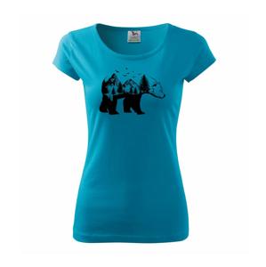 Medvěd ilustrace - Pure dámské triko