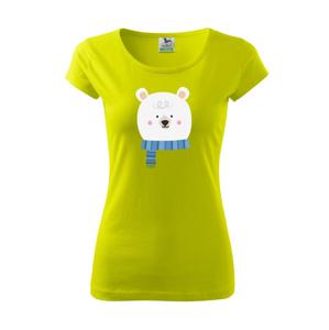 Medvěd se šálou - Pure dámské triko