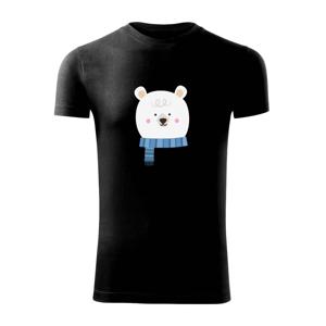 Medvěd se šálou - Replay FIT pánské triko