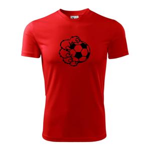 Medvědí tlapa fotbal - Dětské triko Fantasy sportovní (dresovina)