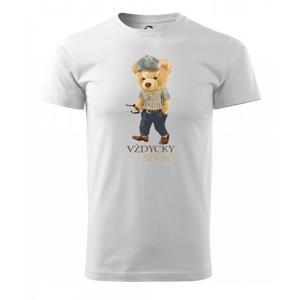 Medvídek vždycky sekáč - Triko Basic Extra velké