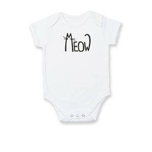 Meow - Mňau - Body kojenecké