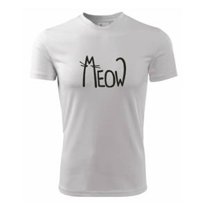 Meow - Mňau - Dětské triko Fantasy sportovní (dresovina)