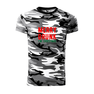 Merry Drunk I'm Christmas - Army CAMOUFLAGE