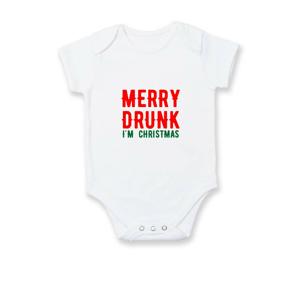 Merry Drunk I'm Christmas - Body kojenecké