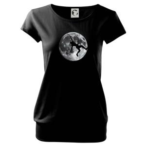 Měsíc a horolezec - Volné triko city