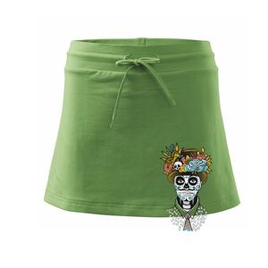 Mexická maska - muž (Pecka design) - Sportovní sukně - two in one