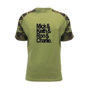 Mick Keith Ron Charlie - Raglan Military