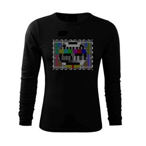 Monoskope tetris - Triko s dlouhým rukávem FIT-T long sleeve