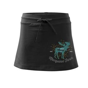 Moose farm - Sportovní sukně - two in one