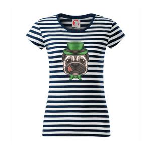 Mops a myslivec - Sailor dámské triko