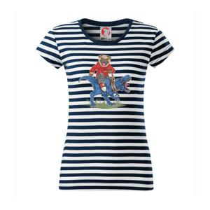Mops a tyranosaurus - Sailor dámské triko