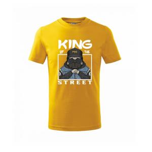 Mops king of street - Triko dětské basic