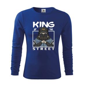 Mops king of street - Triko dětské Long Sleeve