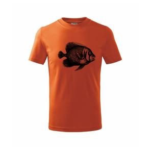 Mořská ryba kreslená - Triko dětské basic