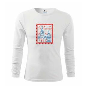 Moskva známka jednoduchá - Triko dětské Long Sleeve