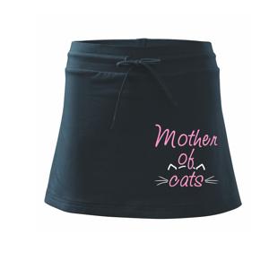 Mother of cats - Sportovní sukně - two in one