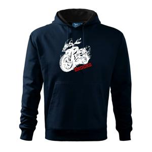 Moto Enduro - Mikina s kapucí hooded sweater