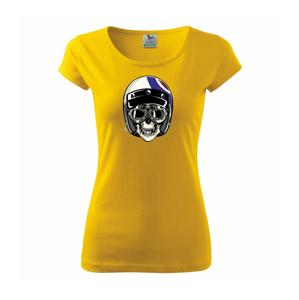 Moto helma letec - Pure dámské triko