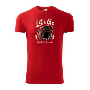 Moto let's go - Replay FIT pánské triko