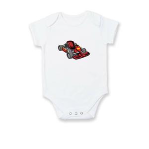 Motokára červená - Body kojenecké