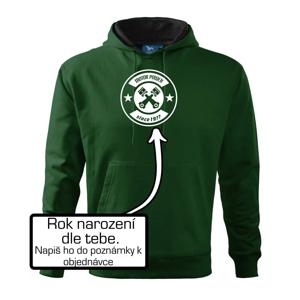 Motor power since (vlastní ročník) - Mikina s kapucí hooded sweater