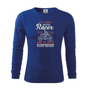 Motor Racer - Triko dětské Long Sleeve