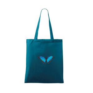 Motyl babočka Morpho Peleides - Taška malá