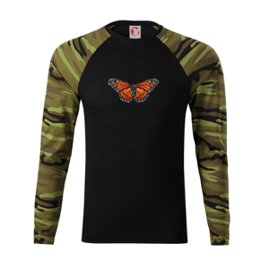 Motýl Monarcha stěhovavý - Camouflage LS
