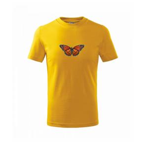 Motýl Monarcha stěhovavý - Triko dětské basic