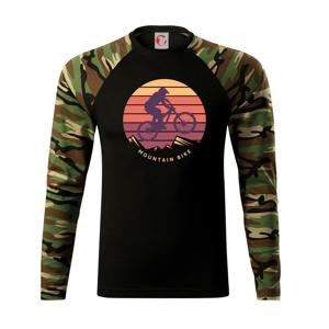 MTB barevné kolo západ slunce - Camouflage LS
