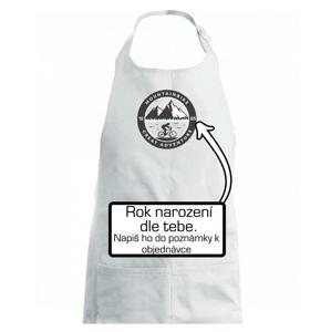 MTB  logo a ročník - Zástěra na vaření