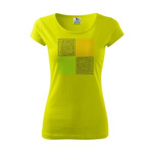 Můj svět - bludiště - Pure dámské triko