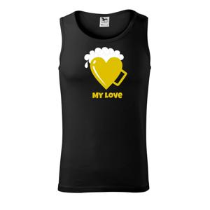 My love - beer (Pecka design) - Tílko pánské Core