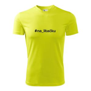 #na_lítačku - Pánské triko Fantasy sportovní