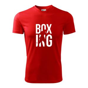 Nápis Boxing - Pánské triko Fantasy sportovní (dresovina)