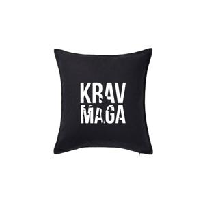 Nápis Krav Maga - Polštář 50x50