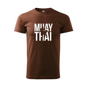 Nápis Muay Thai - Heavy new - triko pánské