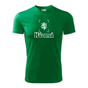 Národní házená lev - Pánské triko Fantasy sportovní (dresovina)